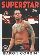 2016 WWE Heritage Wrestling Cards (Topps) Baron Corbin 61