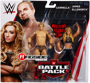 WWE Battle Packs 53 Carmella & James Ellsworth