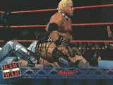 2001 WWF RAW Is War (Fleer) Rikishi (No.14)