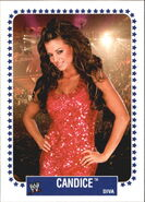 2008 WWE Heritage IV Trading Cards (Topps) Candice Michelle 58