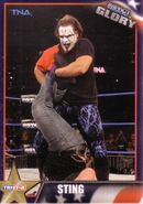 2013 TNA Impact Glory Wrestling Cards (Tristar) Sting 40