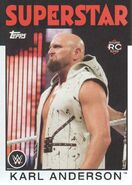 2016 WWE Heritage Wrestling Cards (Topps) Karl Anderson 23