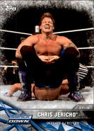 2017 WWE Road to WrestleMania Trading Cards (Topps) Chris Jericho 22