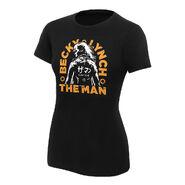 Becky Lynch The Man Katakana Women's T-Shirt