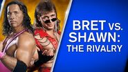 Bret vs Shawn The Rivalry