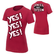 Daniel Bryan YES Women's Authentic T-Shirt