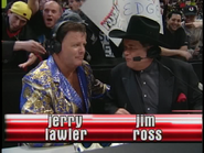 Royal Rumble 2000 JR-Lawler