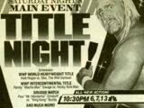 Saturday Night's Main Event XII