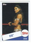 2015 WWE Heritage Wrestling Cards (Topps) Eve 51