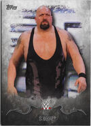 2016 Topps WWE Undisputed Wrestling Cards Big Show 3