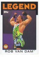 2016 WWE Heritage Wrestling Cards (Topps) Rob Van Dam 99