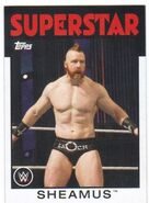 2016 WWE Heritage Wrestling Cards (Topps) Sheamus 33