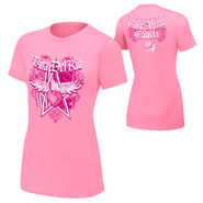 Alberto Del Rio Rise Above Cancer Pink Women's Authentic T-Shirt