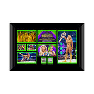 Charlotte Flair WrestleMania 34 Signed Commemorative Plaque