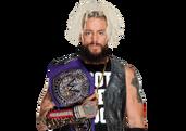Enzo Amore WWE Cruiserweight Champion 2017