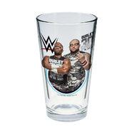 The Dudley Boyz Toon Tumbler Pint Glass