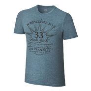 WrestleMania 33 Grandest Stage Blue T-Shirt