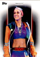 2017 WWE Women's Division (Topps) Bayley 15