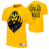 Goldust Ashes To Ashes Gold T-Shirt