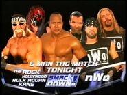 Hulk Hogan, The Rock & Kane vs. nWo (Scott Hall, Kevin Nash, & X-Pac