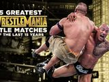 15 Greatest WrestleMania Title Matches of the Last 15 Years