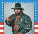 1987 WWF Wrestling Cards (Topps) Billy Jack Haynes (No.8)