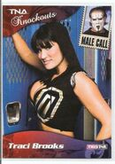 2009 TNA Knockouts (Tristar) Traci Brooks & Sting 88