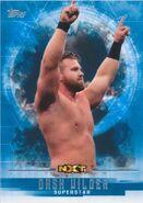2017 WWE Undisputed Wrestling Cards (Topps) Dash Wilder 45