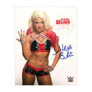 Alexa Bliss Signed 8 x 10 Photo