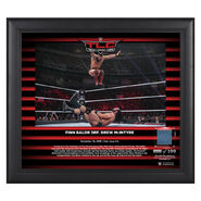 Finn Balor TLC 2018 15 x 17 Framed Plaque w Ring Canvas
