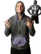 Jeff Hardy Brand Grey Custom Hoodie