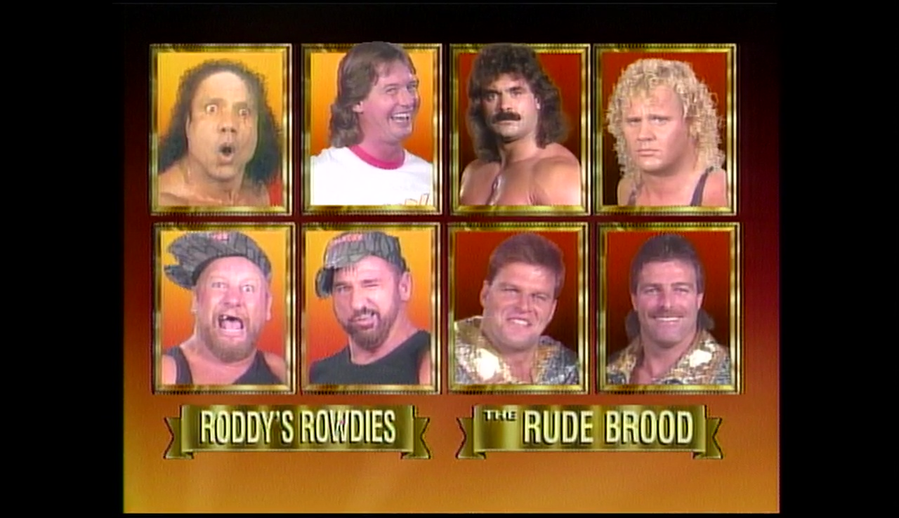 Roddy's Rowdys vs The Rude Brood.