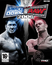 WWE SmackDown! vs. RAW 2006のカバーアート