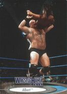 2003 WWE WrestleMania XIX (Fleer) Albert 3