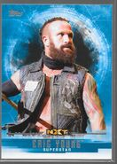 2017 WWE Undisputed Wrestling Cards (Topps) Eric Young 46
