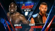 Apollo Crews vs Curt Hawkins