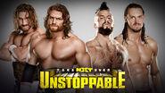 NXT Takerover V Tag Team Match