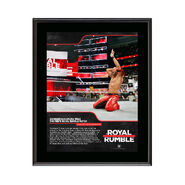Shinsuke Nakamura Royal Rumble 2018 10 x 13 Commemorative Photo Plaque