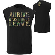 Stone Cold Steve Austin Arrive. Raise Hell. Leave. Muscle T-Shirt
