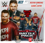 WWE Battle Packs 58 Kevin Owens & Sami Zayn