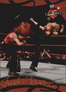 2004 WWE Divas 2005 (Fleer) Trish Stratus 10