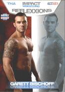 2012 TNA Impact Wrestling Reflexxions Trading Cards (Tristar) Garett Bischoff 22