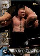 2017 Legends of WWE (Topps) Brock Lesnar 1