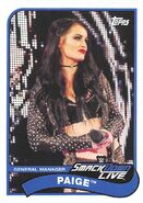 2018 WWE Heritage Wrestling Cards (Topps) Paige 58