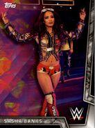 2018 WWE Women's Division (Topps) Sasha Banks 28