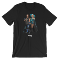 AJ STYLES & CHARLOTTE MMC PHOTO UNISEX T-SHIRT