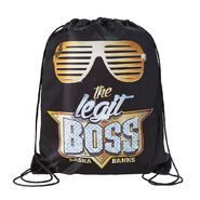 Sasha Banks The Legit Boss Drawstring Bag