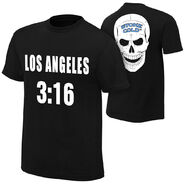 Stone Cold Steve Austin Los Angeles 316 Los Angeles Edition T-Shirt