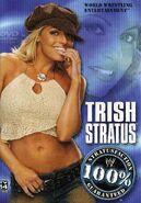 Trish Stratus 100% Stratusfaction Guaranteed DVD cover
