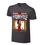 WWE x NERDS Shinsuke Nakamura Strong Style Cartoon T-Shirt